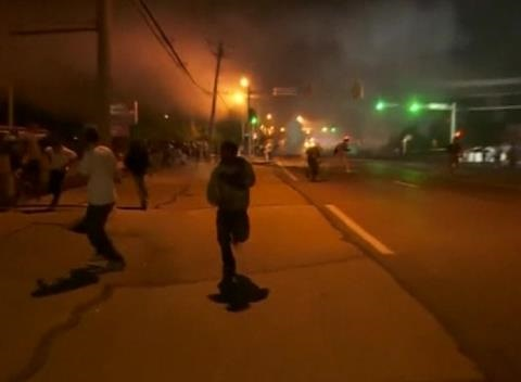 News video: U.S. Police Come Under Gunfire, Arrest 31 in Missouri Racial Unrest
