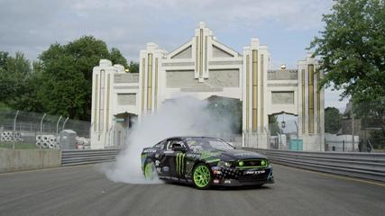 News video: Monster Energy Vaughn Gittin Jr. at GP3R 2014 - Drift